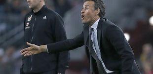 Post de Luis Enrique vuelve a la vieja táctica del enemigo exterior de cara a la  Juventus