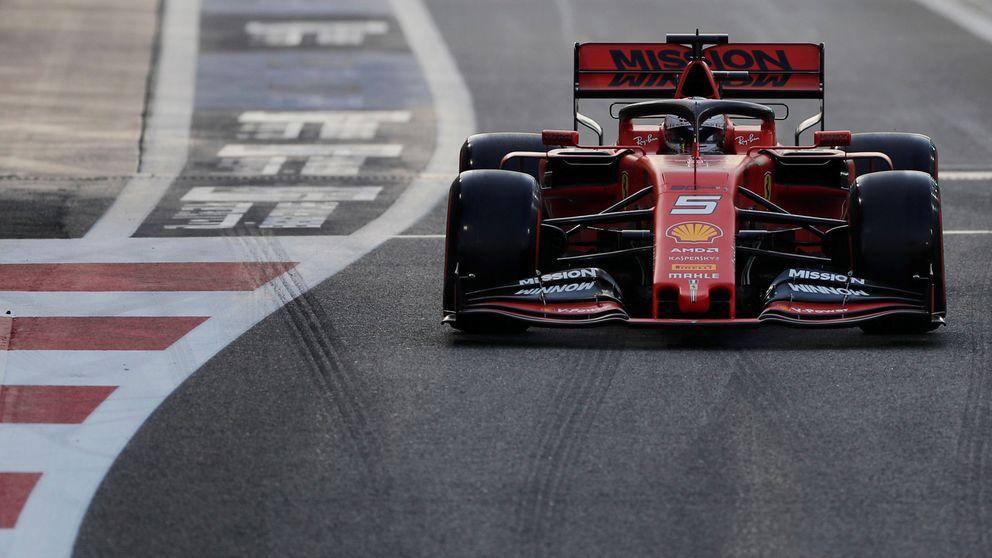 La maldición de Ferrari en Abu Dabi: una dura paliza y nuevo lío con Vettel y Leclerc