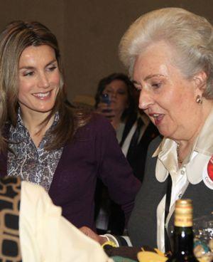 """Pilar de Borbón: """"Letizia es mucho mejor que Lady Di"""""""
