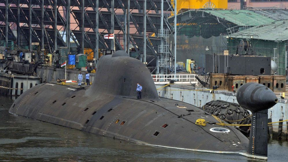 Foto: El INS Aringant, el submarino que es la joya de la corona de India. (Reuters)