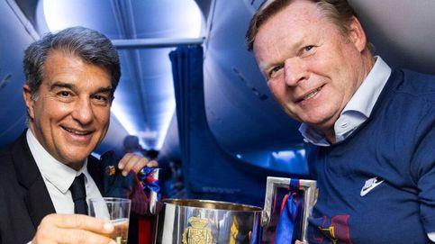 Koeman y Laporta, de la guerra fría a la guerra abierta en Can Barça