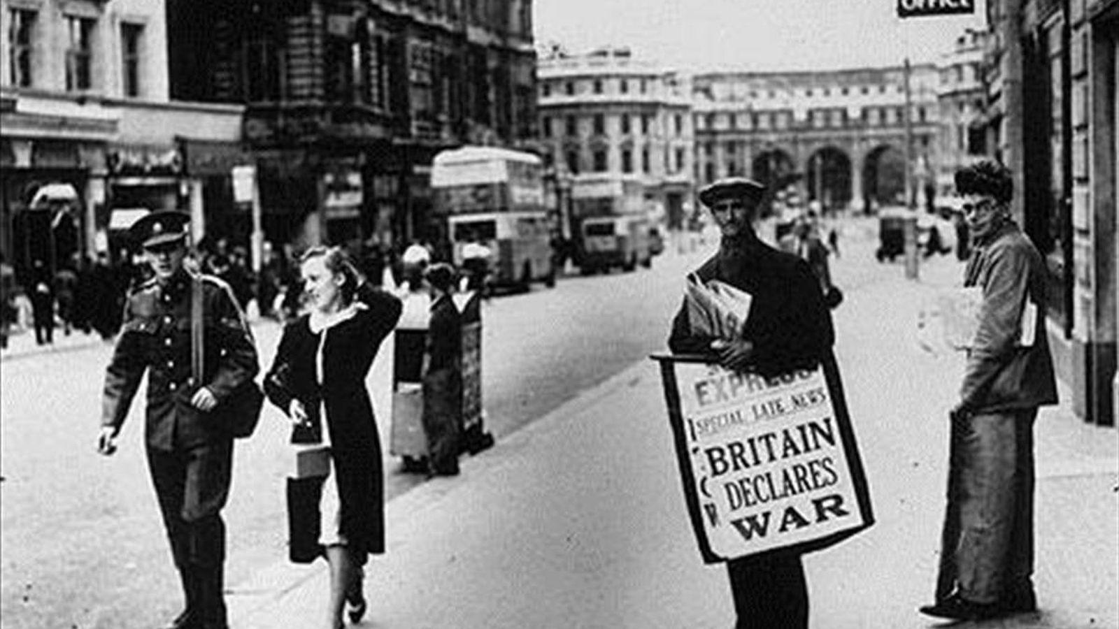 Foto: Gran Bretaña declara la guerra en 1939