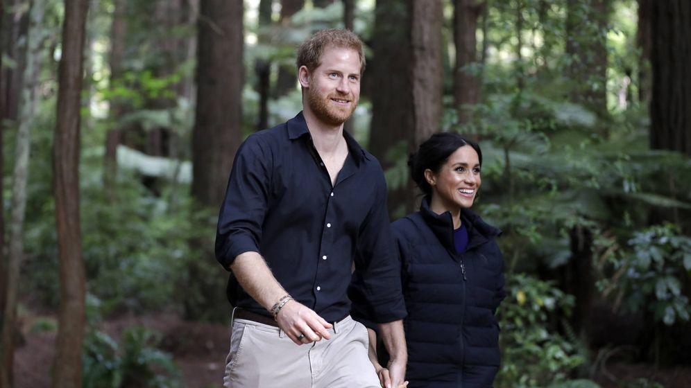 Foto: Los royals durante su último evento en Oceanía. (Getty)