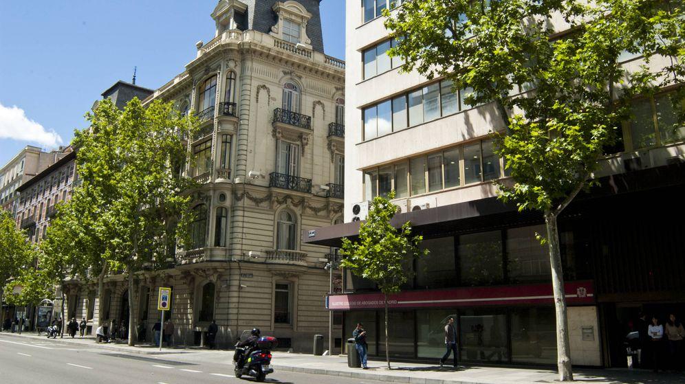 Foto: Fachada del Ilustre Colegio de Abogados de Madrid (ICAM).