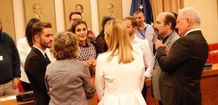 Post de El encuentro de la reina Letizia y Pelayo Díaz en el Congreso de los Diputados