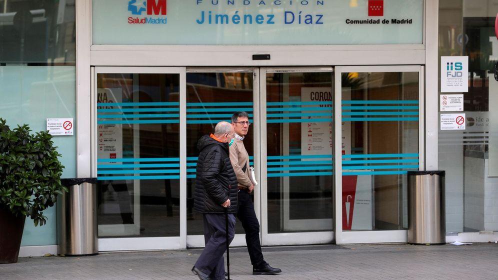 Foto: Imagen del Hospital Universitario Fundación Jiménez Díaz, en Madrid. (EFE)