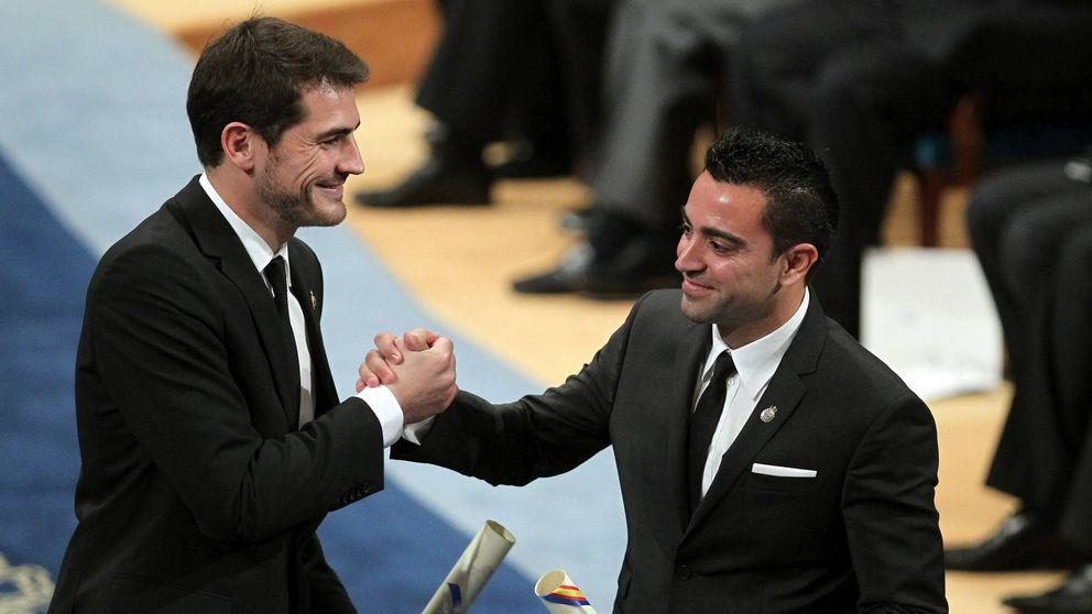 Iker Casillas y Xavi Hernández o cómo atizar al pedestal de dos ídolos