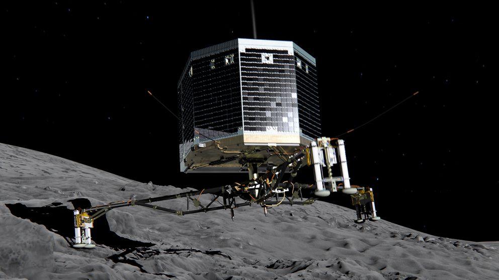 Philae monta en un cometa a la Humanidad