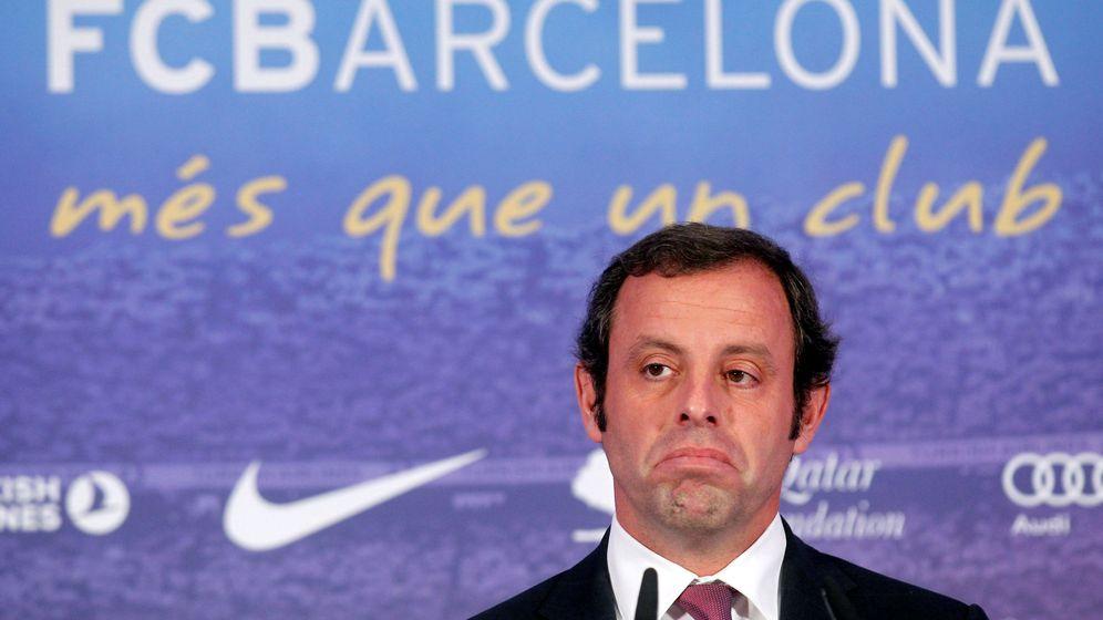 Foto: El expresidente del FC Barcelona Sandro Rosell. (Reuters)
