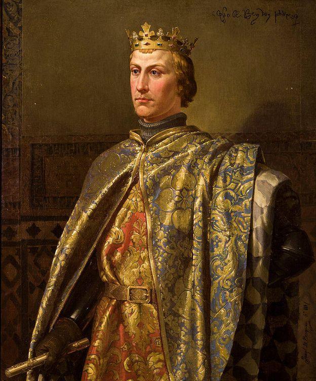 Foto: Retrato de 1857 de Pedro I en el Consistorio hispalense.