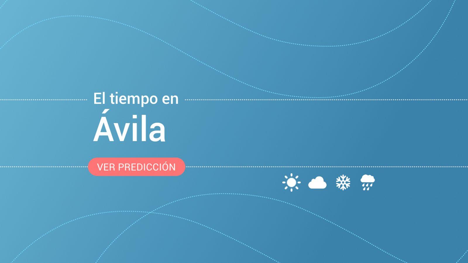 Foto: El tiempo en Ávila. (EC)
