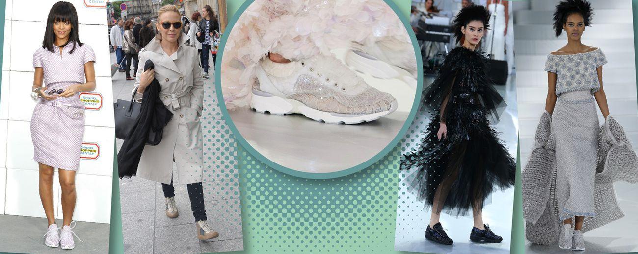 Foto: Las deportivas de 3.000 euros de Chanel arrasan y sabemos por qué