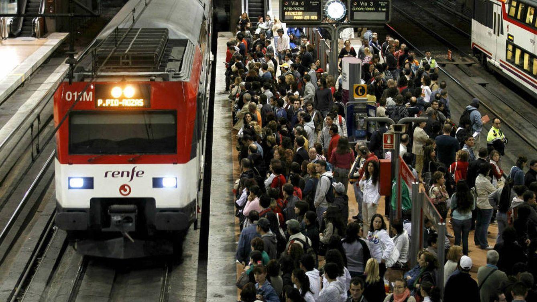 Foto: Un andén de la red de Cercanías, en Madrid. (EFE)