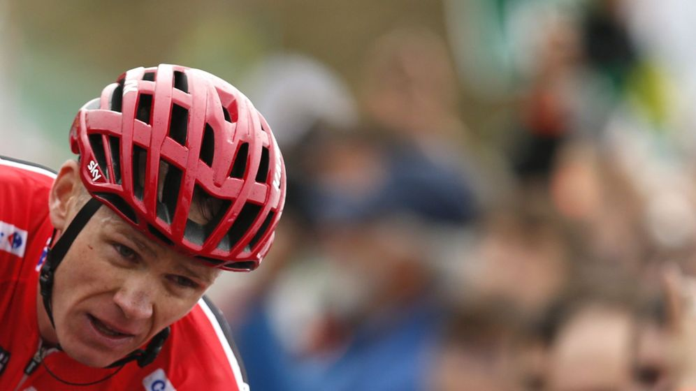Foto: Froome, durante la pasada Vuelta. (EFE)