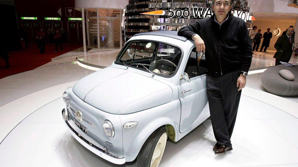 Foto: Foto de archivo del entonces consejero delegado de FIAT Sergio Marchionne