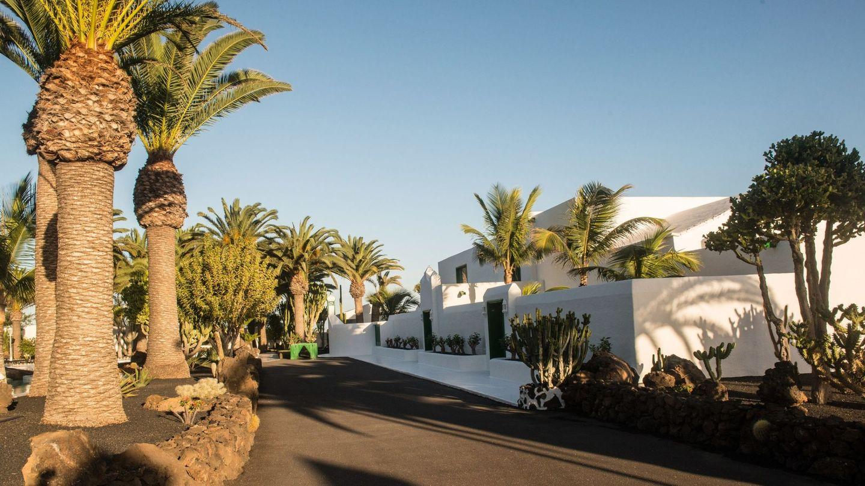 Fotografía de archivo de una vista de la residencia 'La Mareta' en Lanzarote. (EFE)