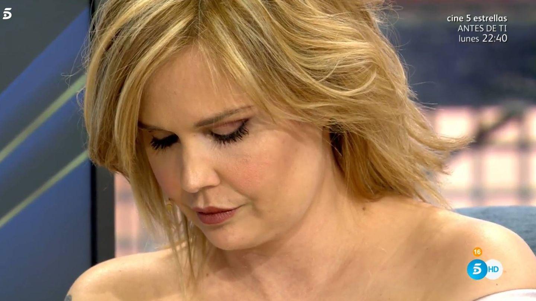 Miriam Sánchez, en 'Sábado Deluxe'. (Telecinco)