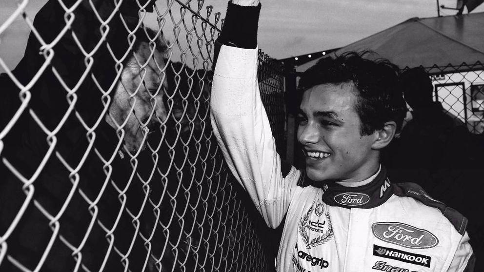 McLaren y su golazo por la escuadra al 'cazar' al prodigioso Lando Norris