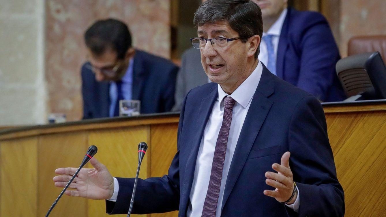 Juan Marín (Cs) gestionará violencia de género y migración al asumir Justicia