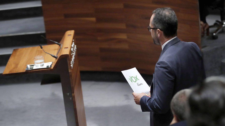 El diputado de Vox Ignacio Blanco. (EFE)