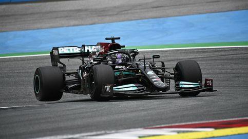 Mercedes asoma en Austria con la lluvia como protagonista: Alonso (8º), mejor español