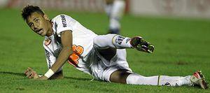 Neymar estuvo gris en la ida de la final de la Copa Libertadores