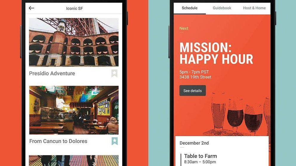 Restaurantes y 'tours': el plan de Airbnb para ser la gran agencia de viajes 'online'