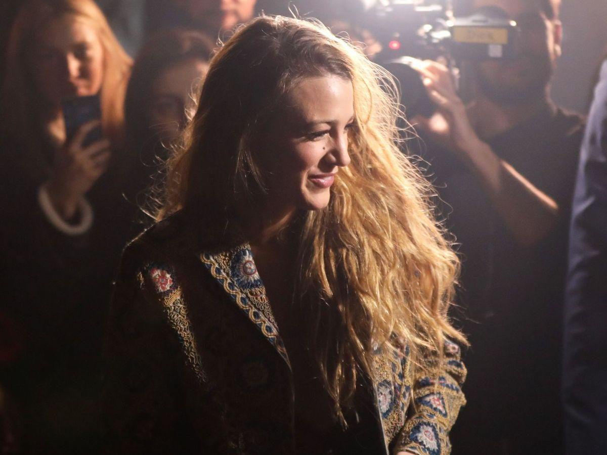 Foto: Blake Lively, en la Semana de la Moda de París. (EFE)