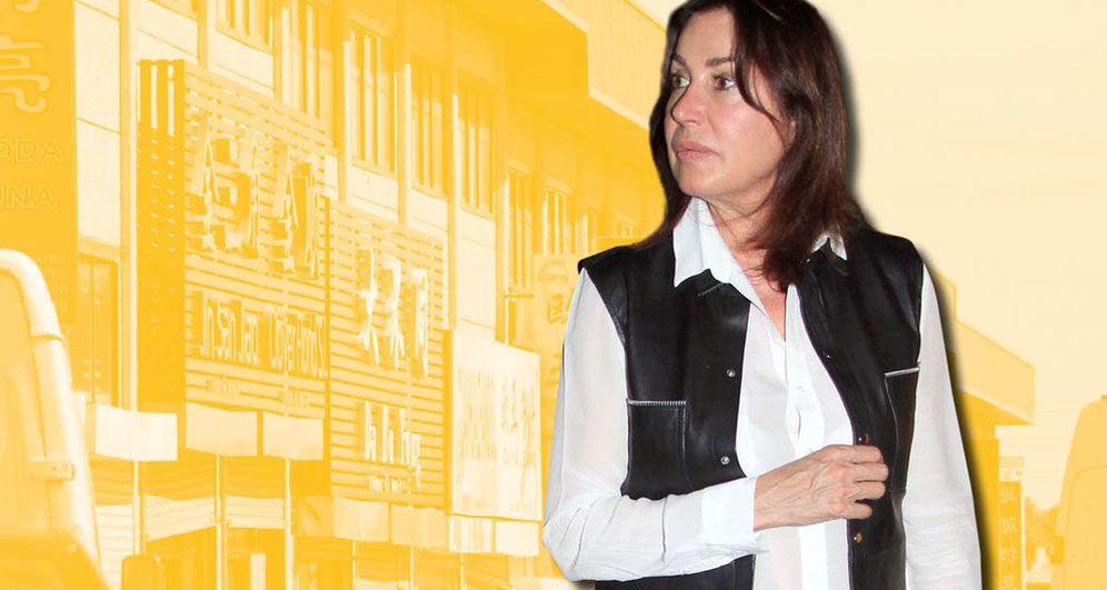 Foto: Carmen Martínez-Bordiú en un fotomontaje realizado en Vanitatis.