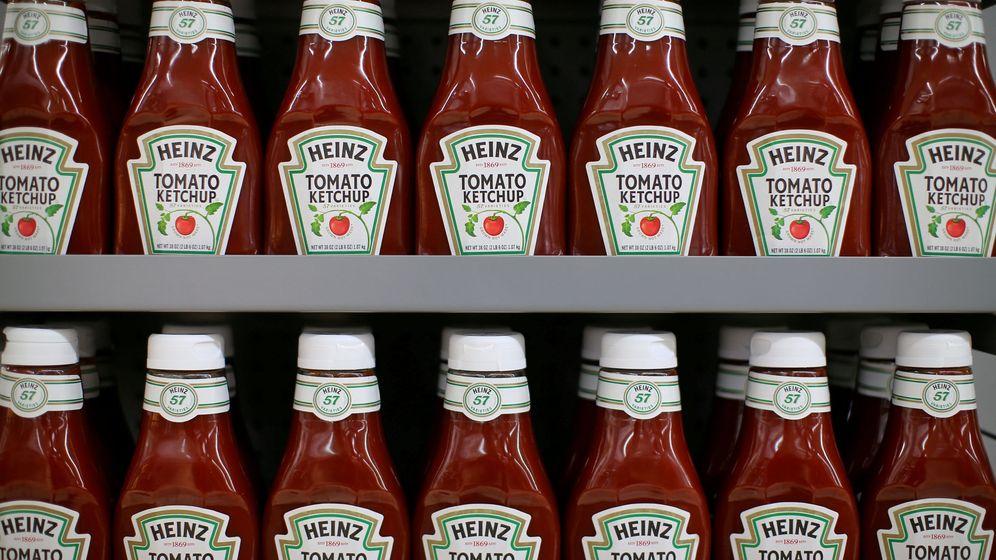 Foto: Botellas de ketchup Heinz. (Reuters)