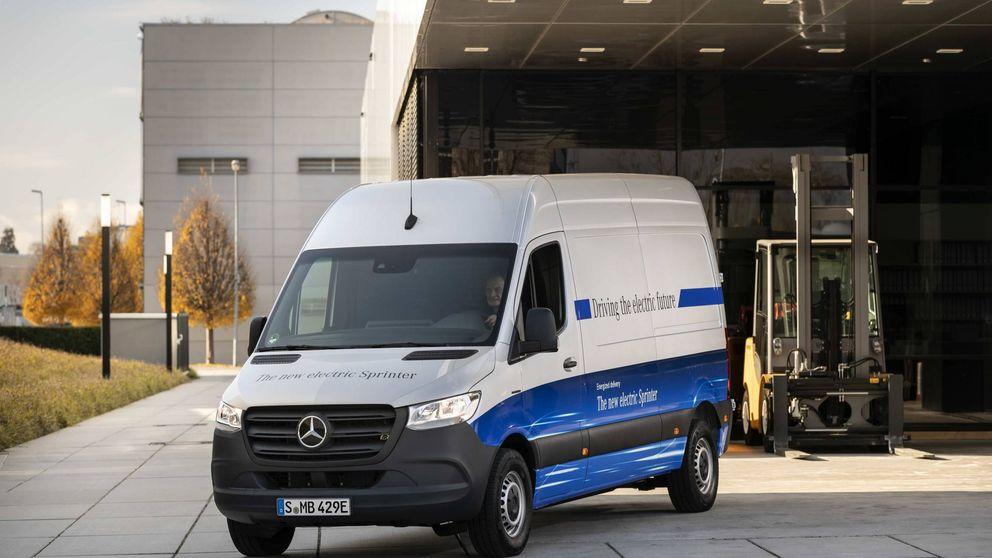 Así es Mercedes eSprinter, la primera furgoneta eléctrica de gran tamaño