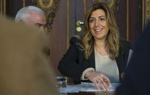 Susana Díaz prepara una jugada vital en su carrera... y en el PSOE