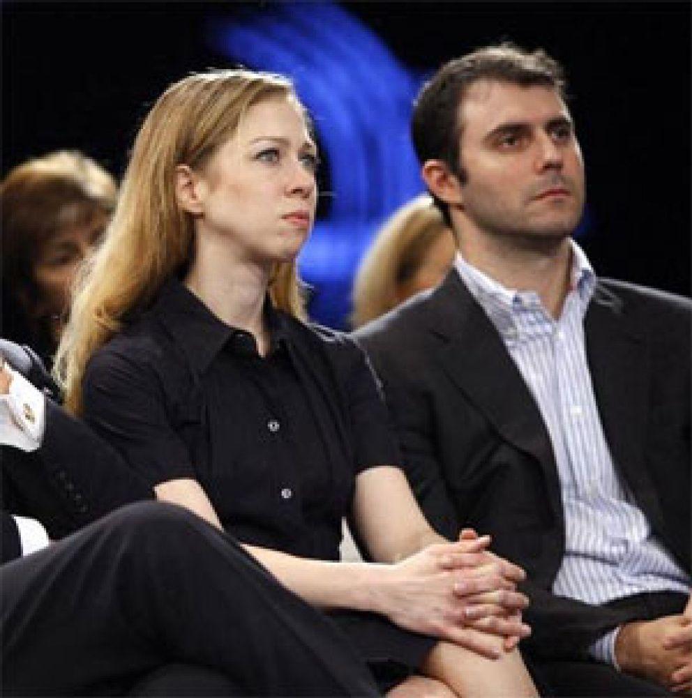 Foto: La hija de Clinton se compromete con un financiero de Goldman Sachs