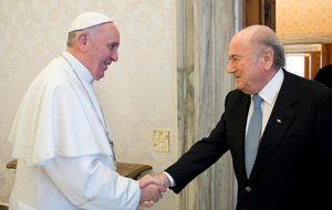 Blatter se reafirma y vuelve a decir que Cristiano es un comandante