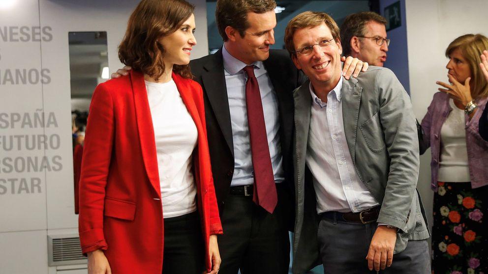 La sombra del ERE en Génova marca la batalla decisiva entre PP y Cs por Madrid