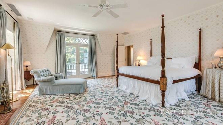 Vista aérea de la nueva casa de Marie-Chantal y Pablo de Grecia en los Hamptons. (NY State MLS)