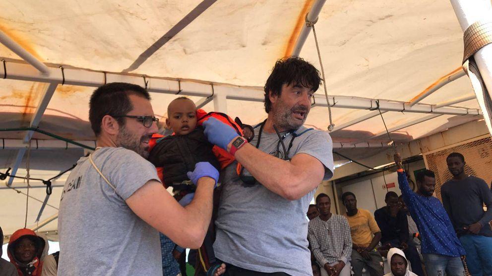 El viaje que cambió la vida a Villacampa: Una vez rescatamos a 385 personas