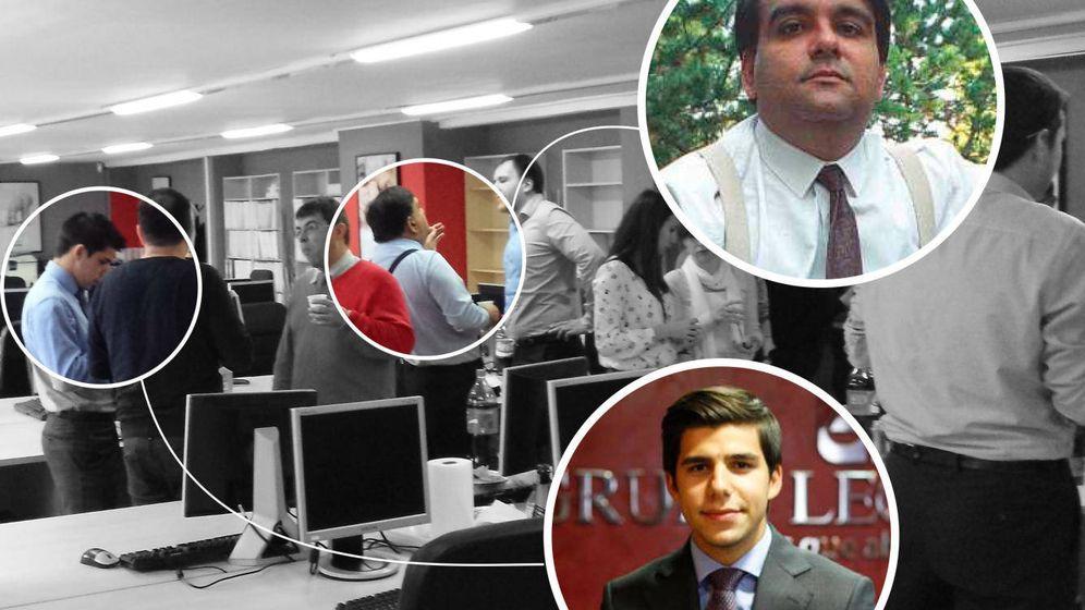 Foto: José María Hill Prados comparte oficina con Dídac Sánchez (Imagen cedida)