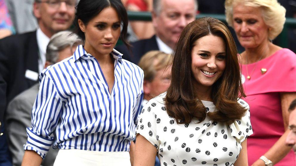 Kate Middleton y Meghan Markle, dos cuñadas, dos estilos, en Wimbledon