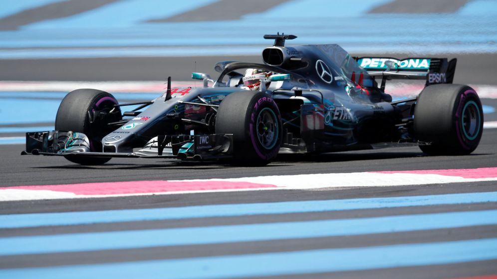 Foto: Mercedes dominó la sesión de los Libres 1 con autoridad. (Reuters)
