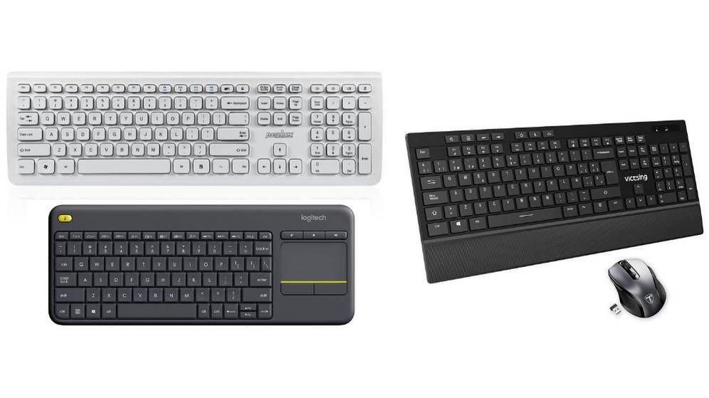 Foto: Los mejores teclados inalámbricos para PC, smartphones o TV