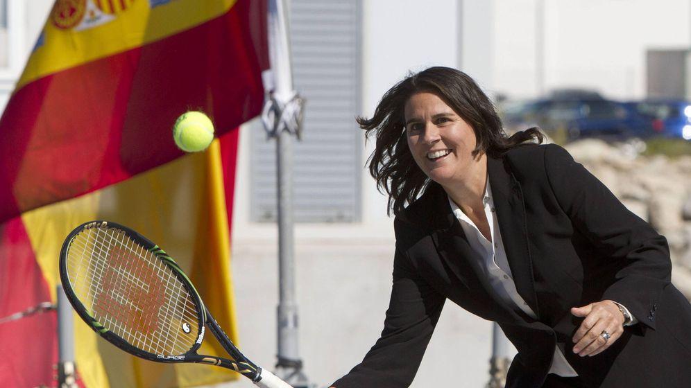 Foto: Conchita Martínez, capitanda de la Copa Davis y la FedCup.