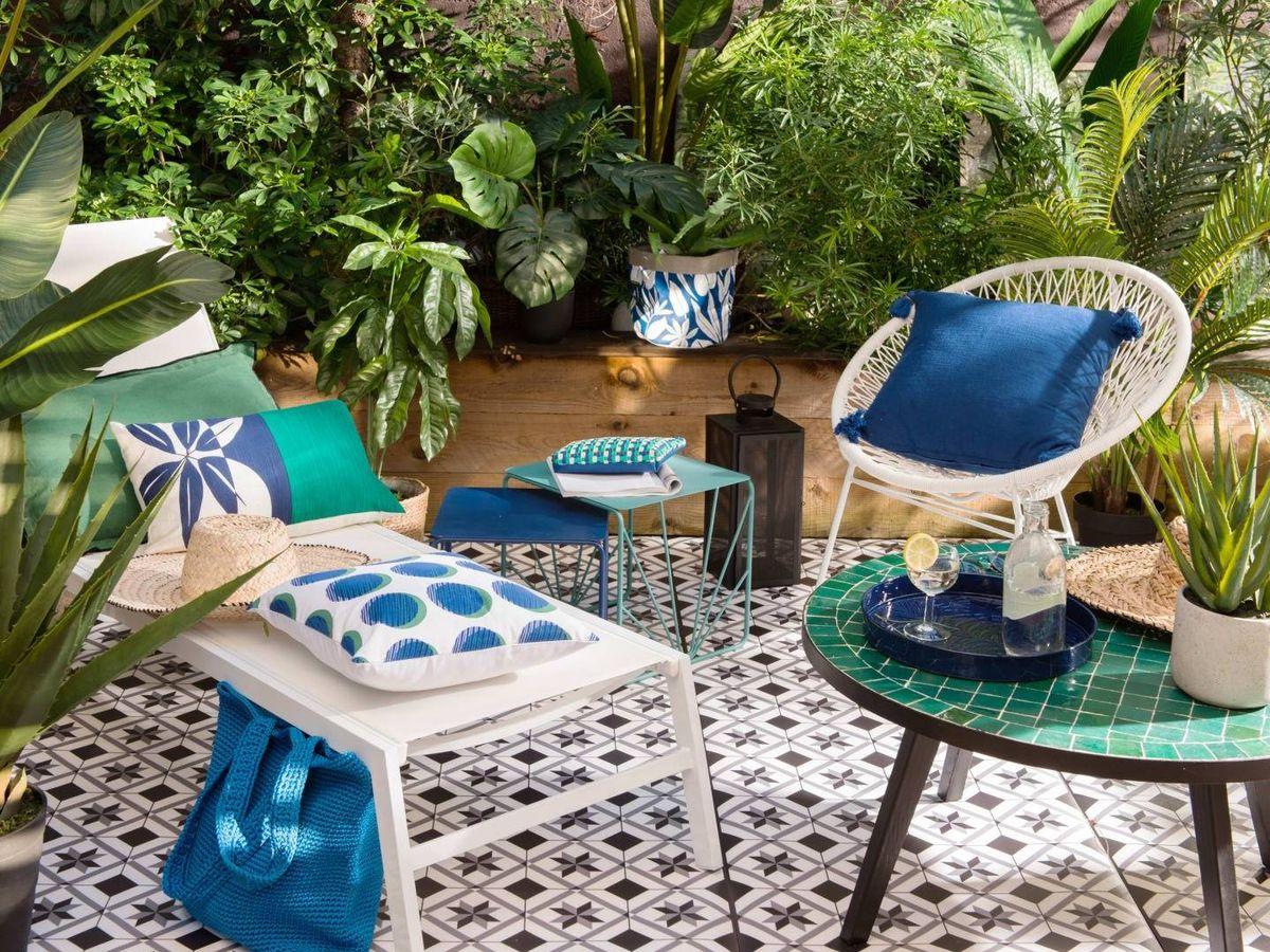 Foto: Decora tu terraza con Maisons du Monde. (Cortesía)