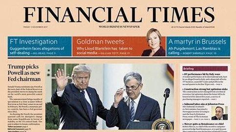 'Un mártir en Bruselas' o cómo el 'Financial Times' bromea sobre el caso Puigdemont