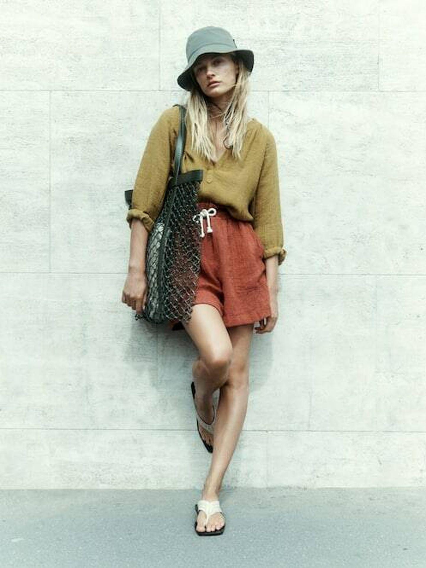 El nuevo look de verano de Massimo Dutti. (Cortesía)