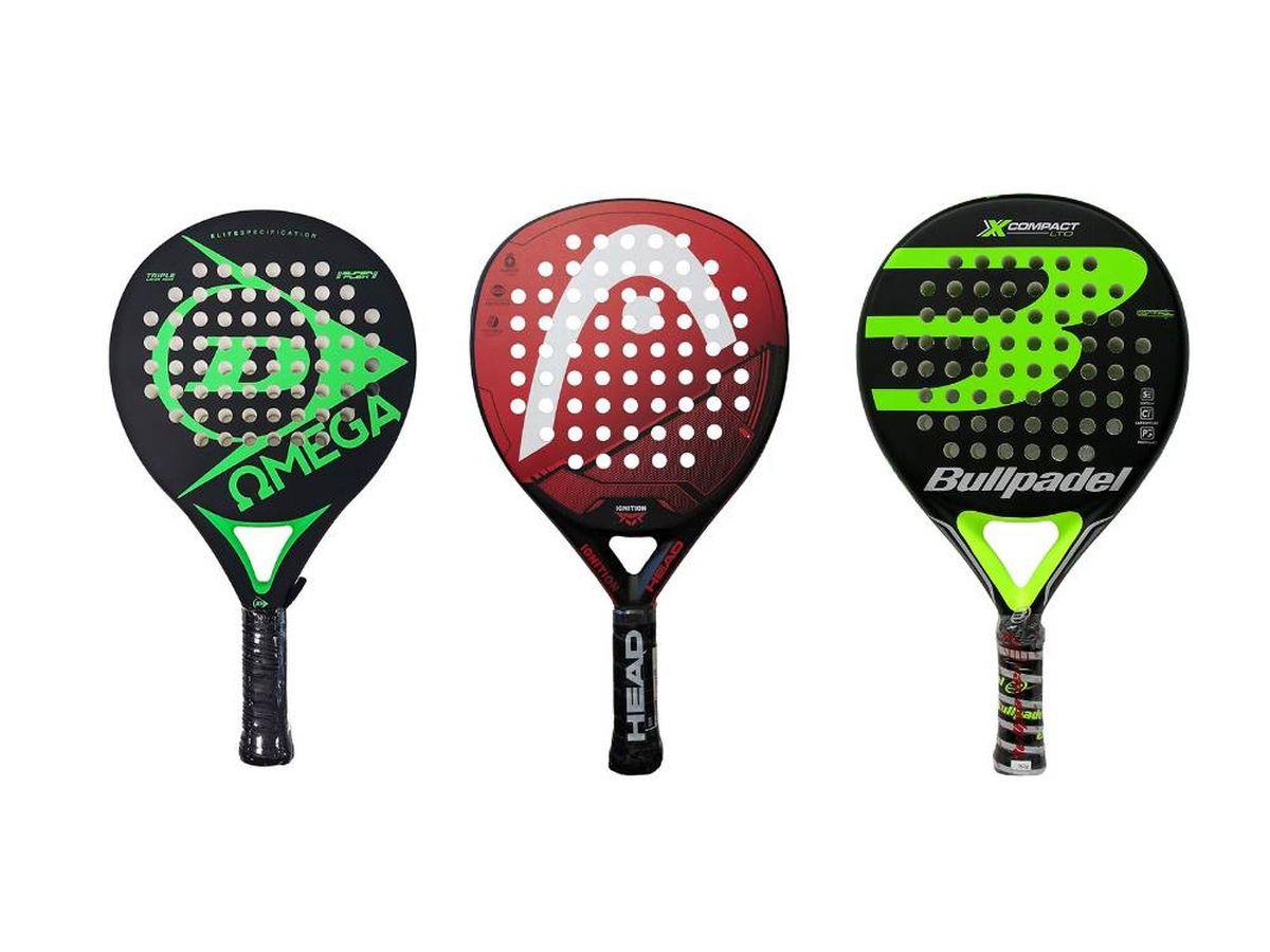 Foto: Mejores palas de pádel para jugadores amateurs y profesionales