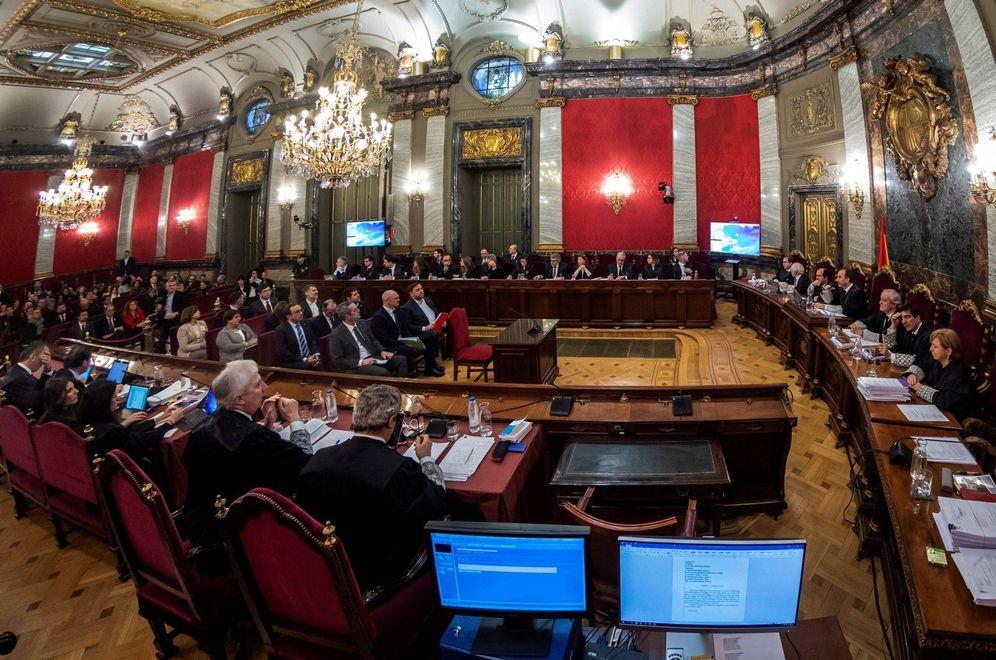 Foto: Vista general de la Sala de Plenos del Tribunal Supremo. (EFE)