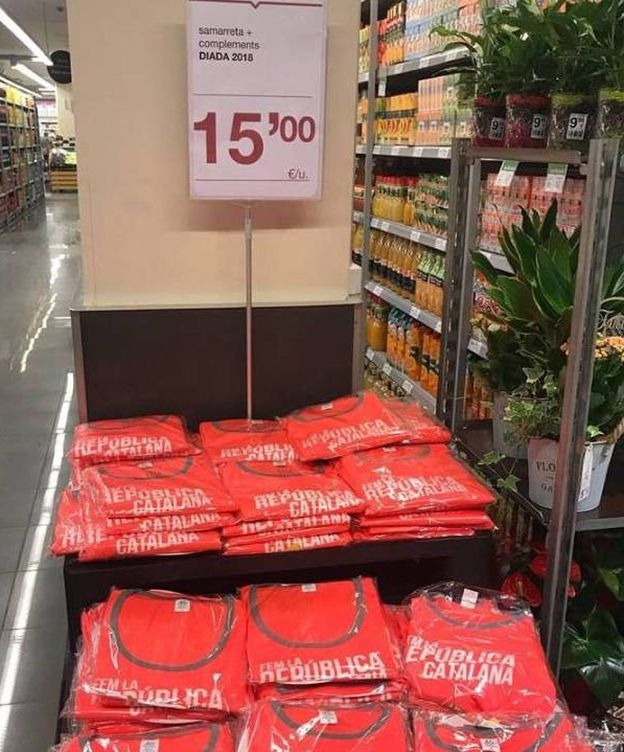 Foto: Artículos que venden los supermercados Bon Preu (EC)
