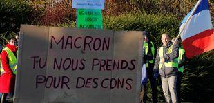 Post de Un muerto en las protestas populares contra Macron organizadas en redes sociales