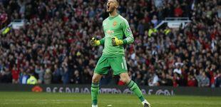 Post de De Gea: el United sonríe mostrando gestos de triunfo tras su frustrada salida